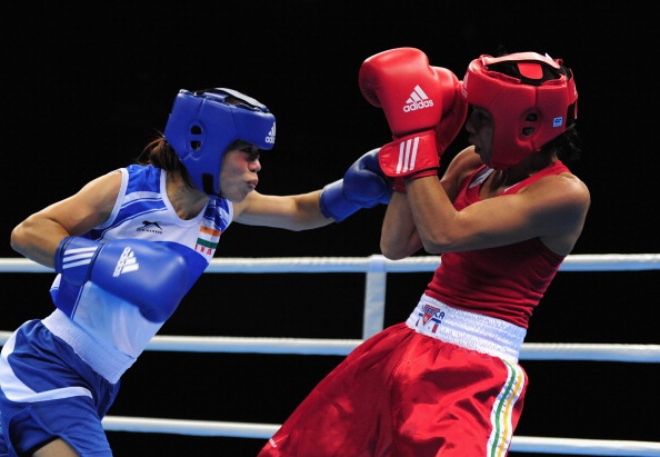 Women's World Boxing C'ships Mary Kom semis