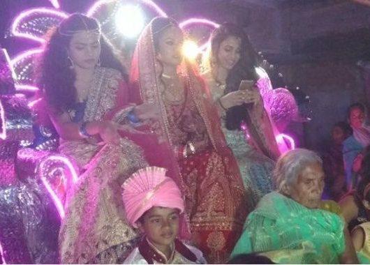 Bride Leads 'Baraat' To Groom