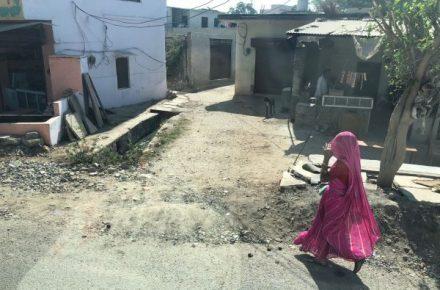 women vote rajasthan village